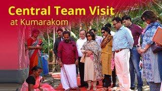 Central Team Visit at Kumarakom