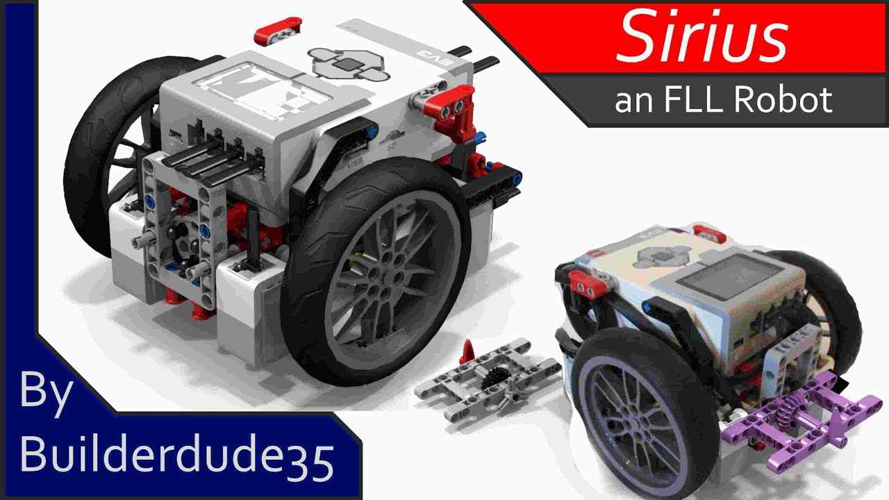 Sirius, an FLL Robot - EV3 Creations - YouTube