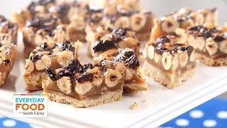 Hazelnut Caramel Chocolate Bars - Everyday Food With Sarah Carey