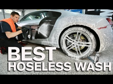 How to SAFELY Wash Your Car Without a Hose!