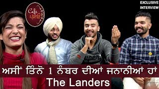 The Landers | Sukh Kharoud | Guri Singh | Davi Singh | Cafe Punjabi | Exclusive Interview