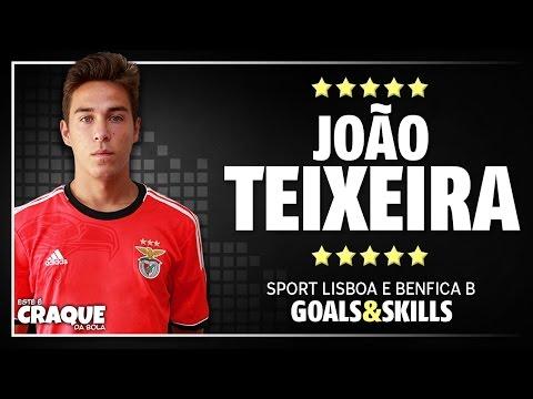 JOÃO TEIXEIRA ● SL Benfica B ● Goals & Skills