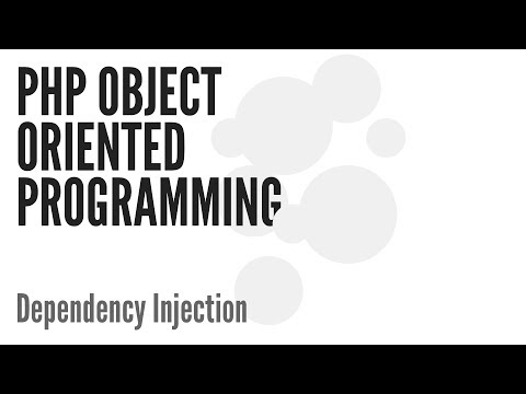 PHP Object Oriented Programming (OOP): Dependency Injection (6/13)