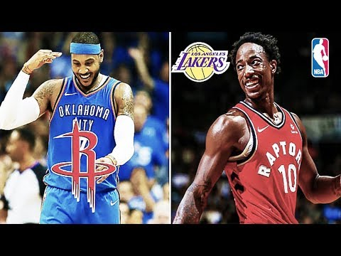 10 Huge NBA Trades And Signings That Will Happen This Off Season