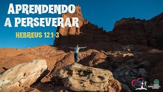 APRENDENDO A PERSEVERAR  - Hebreus 12.1-3