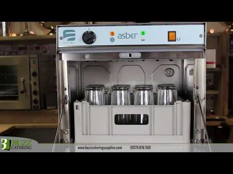 Asber 400 Glasswasher - Now Available From Buzz Catering Supplies