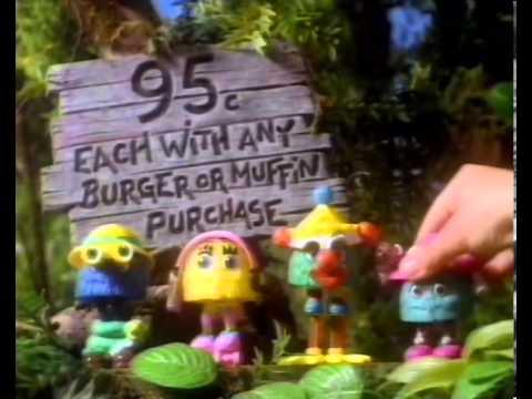 McDonalds - Funny Fry Friends - Australia, 1992