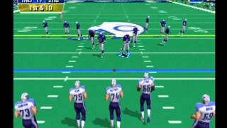 NFL 2K Dreamcast (Titans vs Colts)