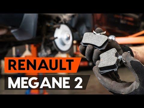 Как заменить задние тормозные колодки на RENAULT MEGANE 2 (LM) [ВИДЕОУРОК AUTODOC]