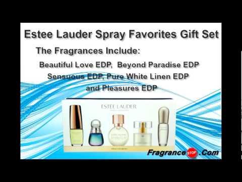 Estee Lauder Spray Favorites Miniature Perfume Gift Set