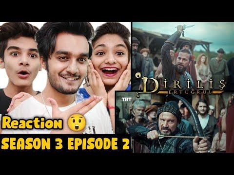 Download Ertugrul Ghazi Urdu Season 3 Episode 2 Reaction   Ertugrul Reaction   Diriliş Ertuğrul Season 3