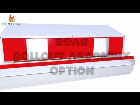 HenGear Reversible Rollout Nest Box - Assembly Video - HenGear.com