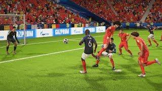 Francia vs Bélgica   Copa Mundial Rusia 2018 de FIFA, Semifinal   FIFA Simulacion