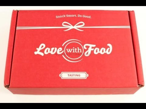 Love with Food January 2016 Tasting Box Review/Tasting + Coupon Codes @LovewithFood