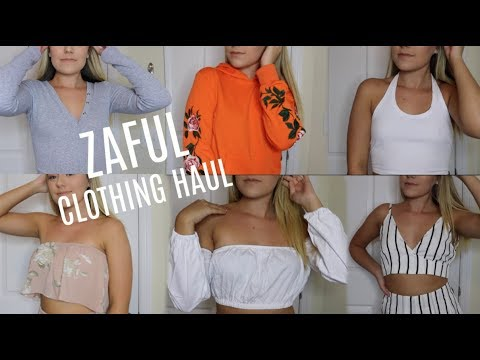 27b667a1294 HUGE TRY-ON CLOTHING HAUL | ZAFUL - YouTube