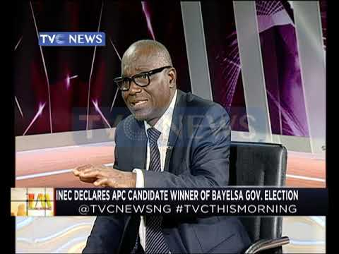 INEC Declares APC Winner Of Bayelsa Guber Elections