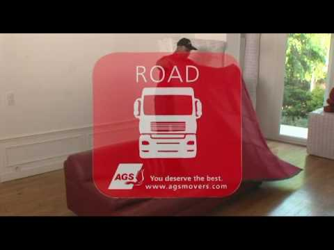 AGS Movers packs your living room - YouTube