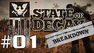 Let's Play State of Decay Breakdown #01 - Infizierte Landeier [GERMAN / HD]