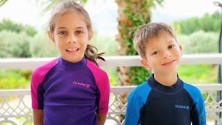 Beach Story Song I KLS Nursery Rhymes Songs & Kids Videos
