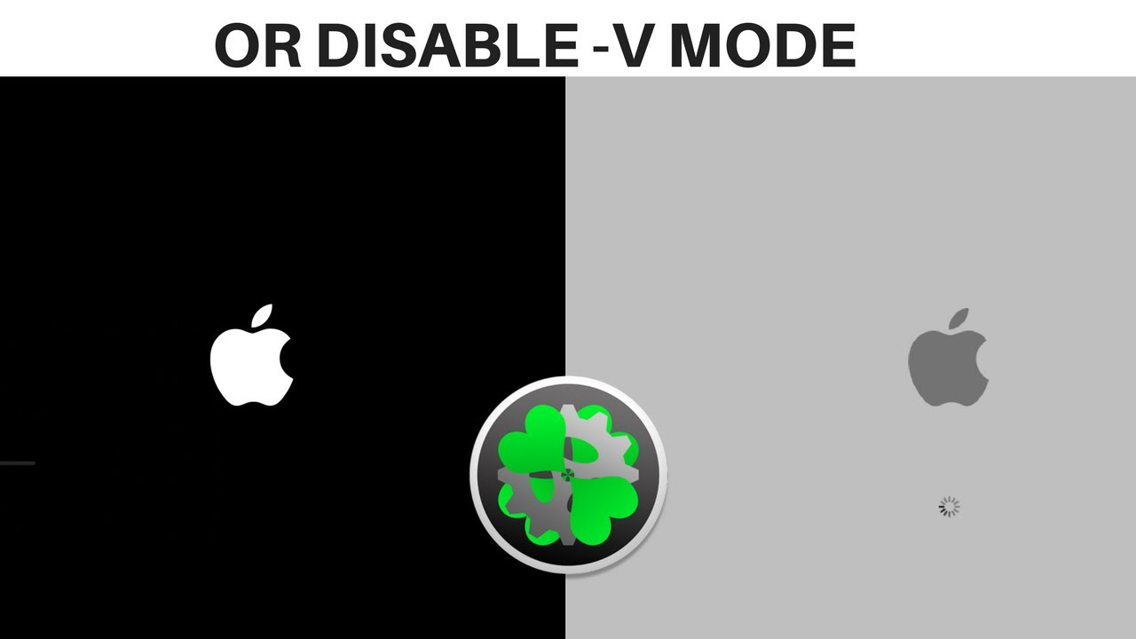 How To Change Apple Boot Logo Screen On Hackintosh (ALSO DISABLES VERBOSE  (-v) MODE)