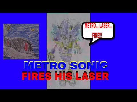 Metro Sonic Fires His Metro Laser ( With Sound Effects)