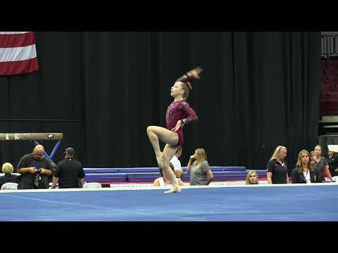 Sydney Morris - Floor Exercise - 2018 GK U.S. Classic - Junior Competition