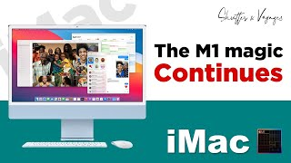 M1 iMac | The M1 Saga Continues | Unboxing | Impressions | Blue | S&V