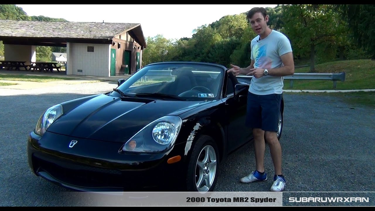 review: 2000 toyota mr2 spyder - youtube