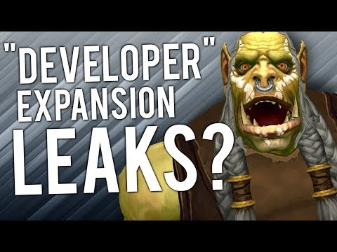 "WoW Future Expansion ""LEAK"" By ""REAL DEVELOPER"" - WoW: Battle For Azeroth 8.1"