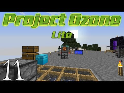 Minecraft Project Ozone Lite - Auto Sieve Auto Compressed Co