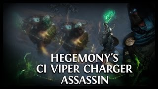 Path of Exile Ascendancy: HegeVenom Ci Viper Charger Assassin!