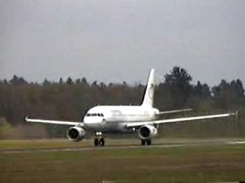 Airbus A319 - Very Fast Crazy Take Off