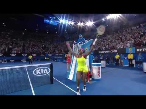 Match Point: Serena Williams (Final) - Australian Open 2015