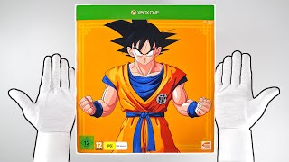 Dragon Ball Z Kakarot Collector's Edition Unboxing + Xbox One X Gameplay