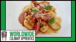 Quick And Easy Crispy Potato Gnocchi Recipe - Classic Gnocchi Recipe