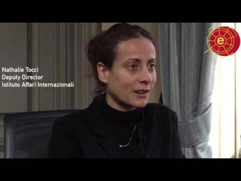 "Nathalie Tocci ""EU foreign policy in a Brexit and Trump world"" @rielcano"