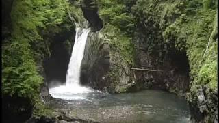 大釜の滝、大轟の滝(旧木沢村)
