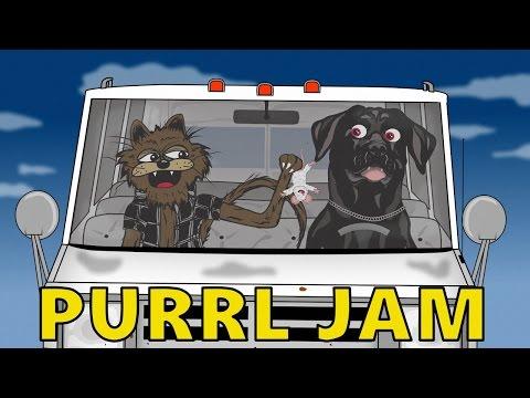 PURRL JAM - Pearl Jam - JEREMY Parody