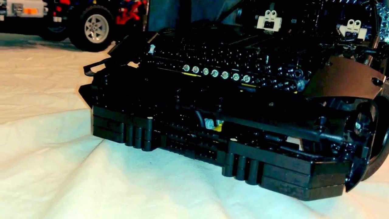 lego technic knight rider kitt with spm youtube. Black Bedroom Furniture Sets. Home Design Ideas