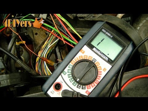 DIY Testing For Continuity With A Multimeter YouTube