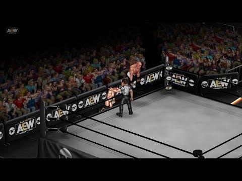 Sammy Guevara vs Christopher Daniels - AEW Dynamite [Fire Pro Wrestling World]
