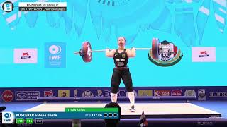 2019 IWF World Championships Day 4 WOMEN 64 kg Group D