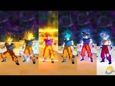 Dragon Ball Xenoverse 2 - Goku All Forms SSJ, SSJ2,SSJ3,SSJG,SSJB,SSJBKK,UI & Master Ultra Instinct