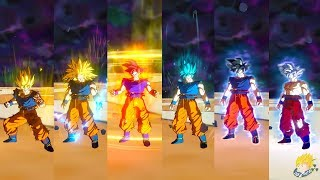 Dragon Ball Xenoverse 2 - Goku All Forms SSJ, SSJ2,SSJ3,SSJG,SSJB,SSJBKK,UI & Master Ultra Instinct