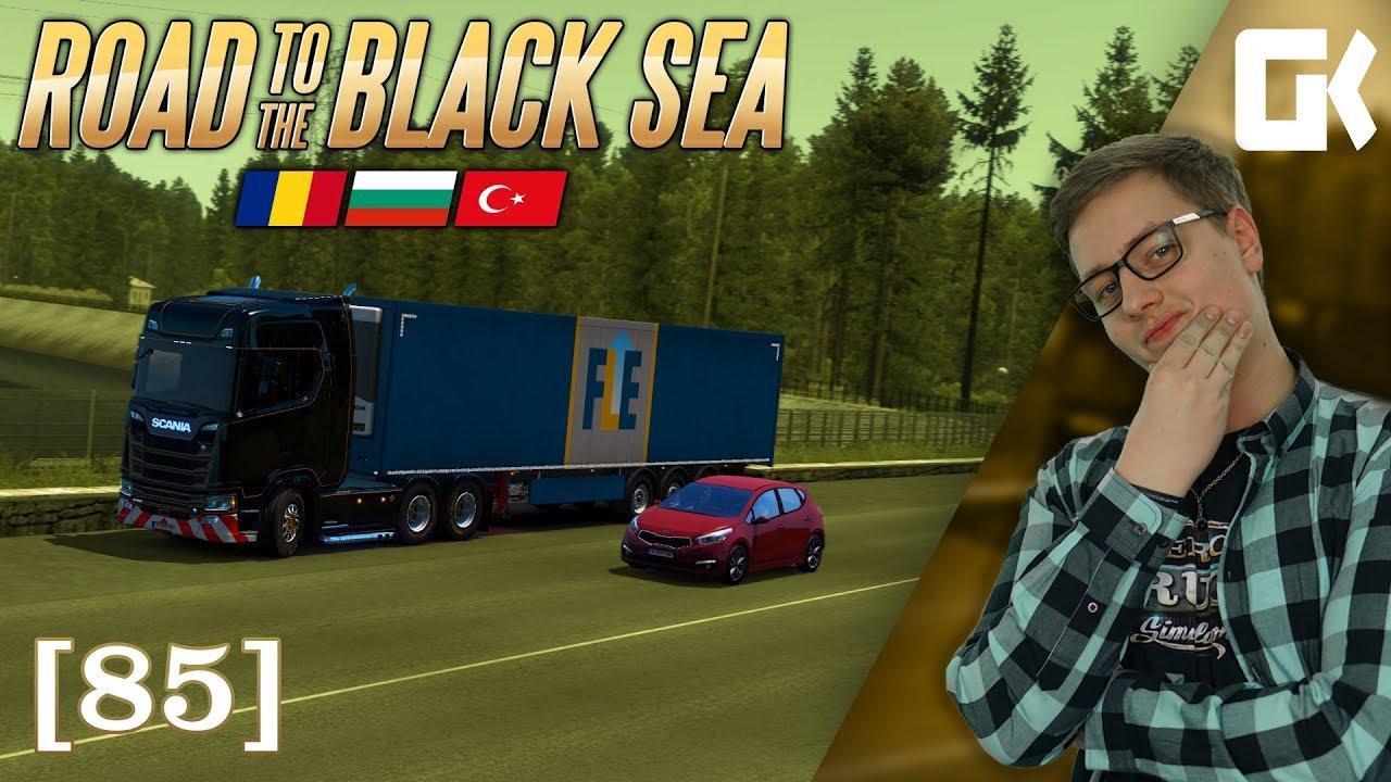 KRÁSY BULHARSKA ANEB ROAD TO THE BLACK SEA | Euro Truck Simulator 2 #85