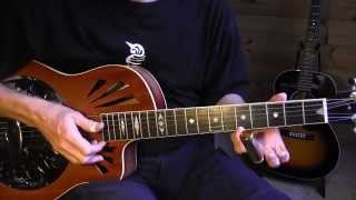 "Lesson Delta Blues Slide - Son House ""Lowdown Dirty Dog Blues"" Free TAB"