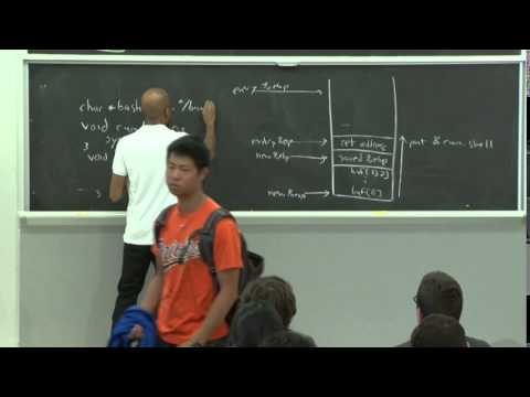 6.858 Fall 2014 Lecture 3: Buffer overflow exploits and defenses