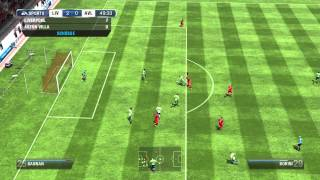 Fifa 13 Gameplay - HD/PC - FC Liverpool - EA Matchday - by X2