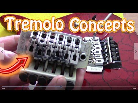 Floyd Rose Tremolo Bridge Setup and Concept Ibanez Pro Rock