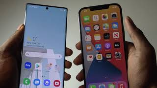 iPhone 12 Pro Max Vs Samsung Galaxy Note 10 Plus